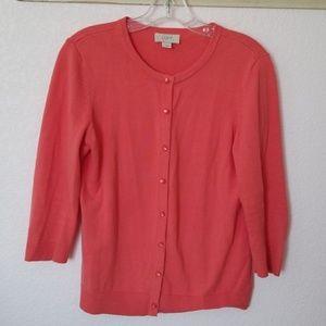 Loft coral colored sweater.